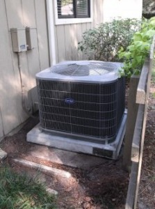 Old Heat Pump